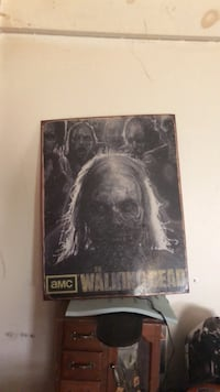 Metal Walking Dead Poster  Saginaw, 48602