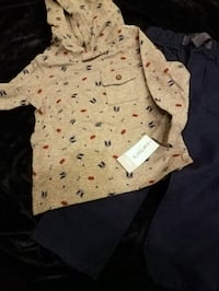 New Carters boys pant set size 24m $12 price firm  Rockville