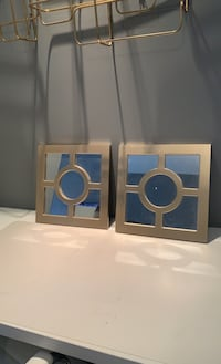 2 gold mirrors. Price includes both  Port Coquitlam, V3B 0L3