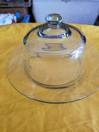 clear glass bowl with lid Long Beach, 90805