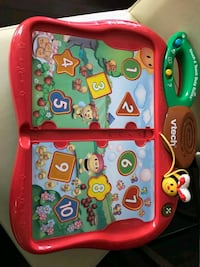 Vtech touch and teach busy books Edmonton, T5Y 0N1