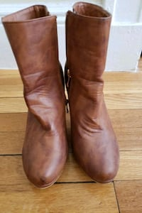 suede tan brown boots