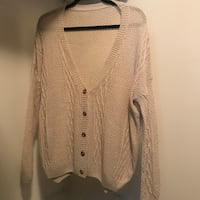 BRAND NEW! Loose-fit Knitted Cardigan 23 km