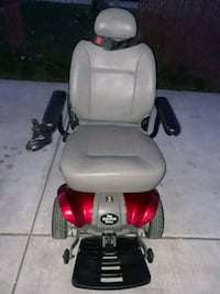 red and gray power chair Stockton, 95205