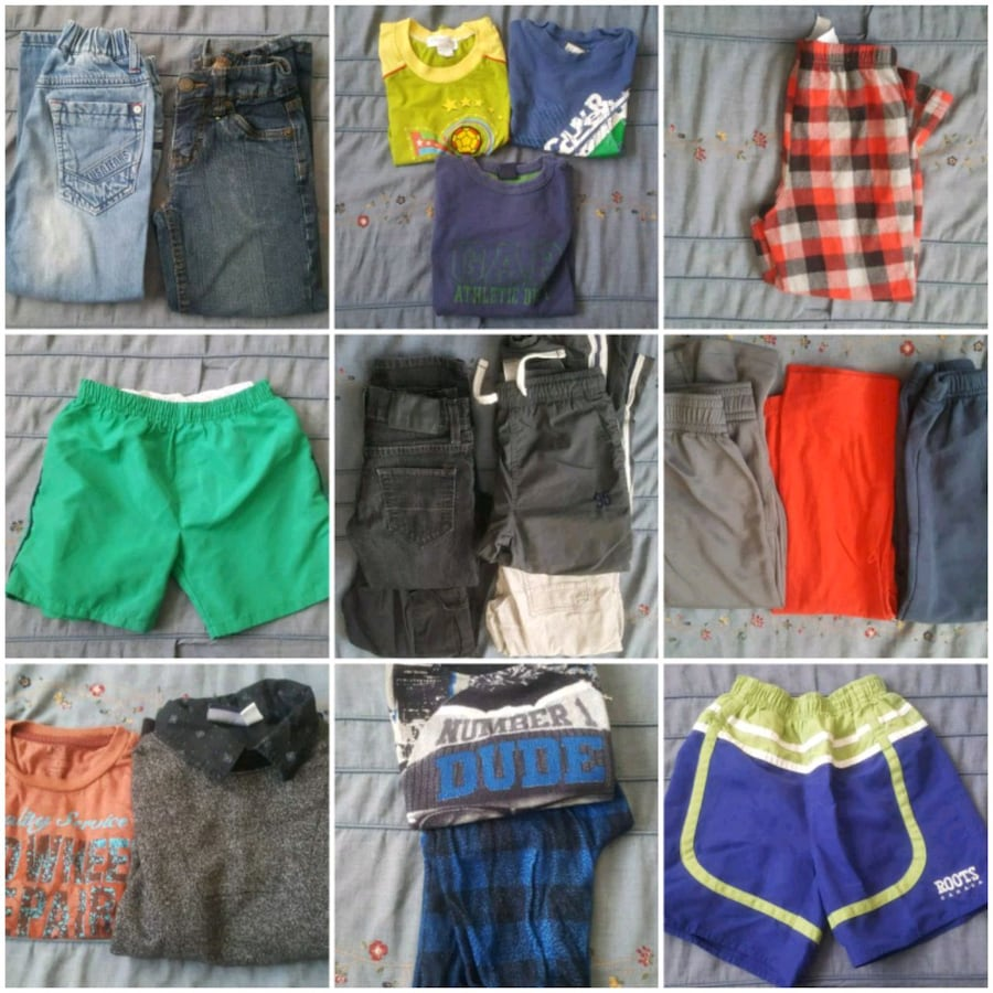 Boys clothes sizes 4, 4/5, 5 and 5/6
