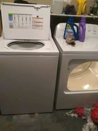 white top-load washer and dryer set Palm Bay, 32905