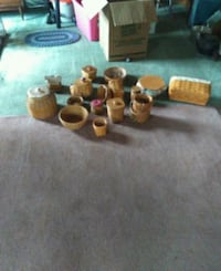 cutlery wicker baskets $50 for the whole set obo  New Market, 21774