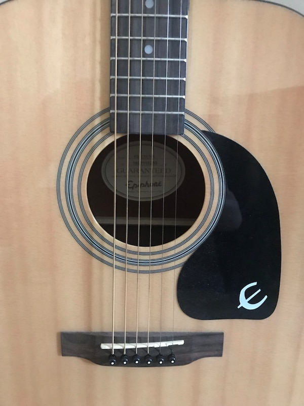 Epiphone Acoustic Guitar and Capo 2
