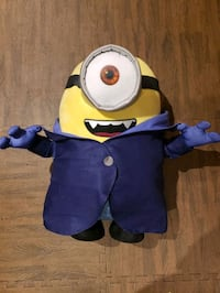 Minion plush toy foot height