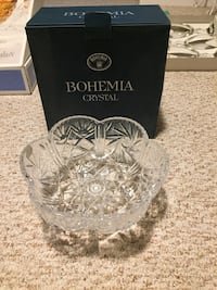 Handcrafted Lead Crystal Bowl