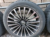 BMW alloy wheels, rims and winter tires 225 45 r17
