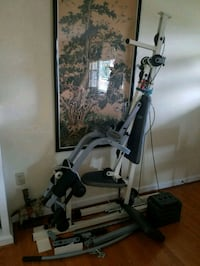 Home gym with weight stack marcy impex competitor
