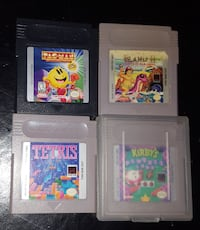 four assorted game cartridges Daytona Beach, 32117