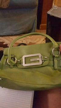 green leather 2-way handbag Corryton, 37721