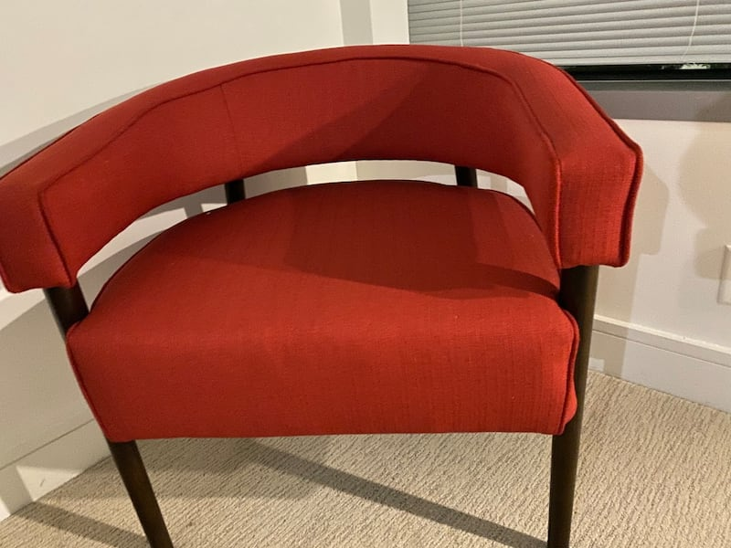 Two Red Arm Chairs adb5ba9e-8884-4bb1-9c05-810792a5dbf2