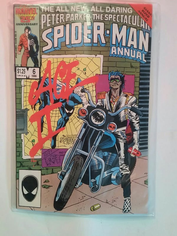 COMIC Marvel 100 bucks obo spiderman 1986 d886c333-ef45-419d-ad56-9892923bd616