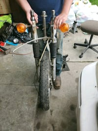Rim and front fork for 72 Honda 350cc $350 OBO