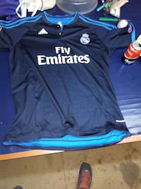 camiseta azul Adidas Fly Emirates