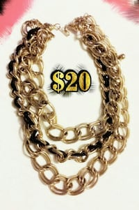 Reduced Price!! Gold Chain-Link Necklace Abilene, 79602