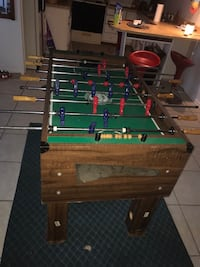 green and brown foosball table Indian Harbour Beach, 32937