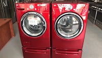 LG front Load washer and dryer set Reisterstown, 21136