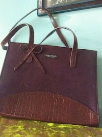 brown leather late spade bag Hamilton, L8M 2T7