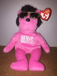 pink and yellow TY Beanie Baby plush toy Pickering, L1V 4R3