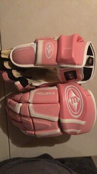 Pink and white hockey gloves Vaughan, L4L 1A6