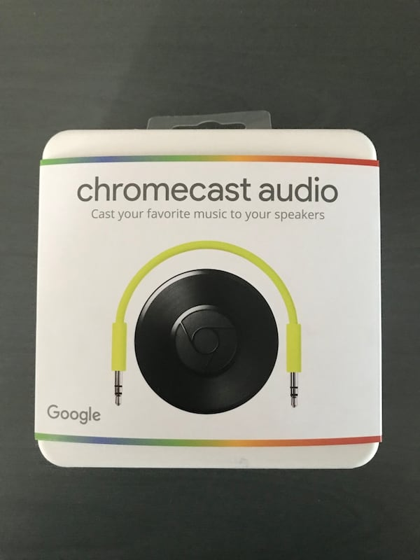 Chromecast Audio + Amplifier f1cd8d50-8227-4f97-9e7a-dea97a34f681