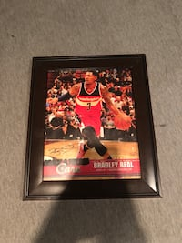 Bradley Beal Autographed picture Sterling, 20164