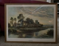 Large antique Daniel Sherrin US Print No. 907  Northbrook, 60062