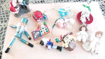 Christmas ornaments $12 for all