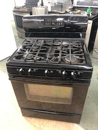 Kenmore 5 burners self cleaning & convection oven Gas stove with warmer drawer 100 days warranty  Baltimore, 21222