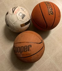 2 basketballs and 1 soccer ball Kelowna, V1X 1Y9