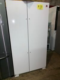 New Kenmore scratch & dent side by side doors fridge with 6 months warranty