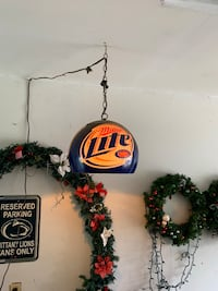 2 miller lite bar lights Wilkes-Barre, 18702