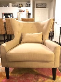 Tan Linen Side Chair- Like New Condition! Springfield, 22150