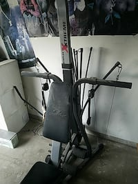 black and red Bowflex exercise equipment Merced, 95340