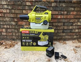 RYOBI ONE+ 18V Cordless Fogger/Mister - 2.0Ah Battery&Charger Included