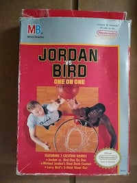NINTENDO NES JORDAN VS BIRD VIDEO GAME Pickering, L1V 3V7