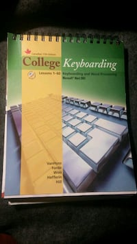 College Keyboarding book