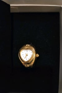Gold toned ring watch Winnipeg, R2W 4Y8