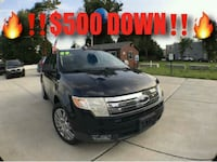 2009 Ford Edge Limited  Washington