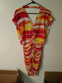 red and white striped scarf Las Vegas, 89106