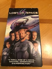 Lost in Space VHS Tape Raleigh, 27612