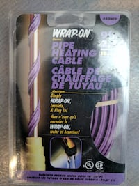 WRAP-ON Pipe Heating Cable / Cable de chaffage de tuyau