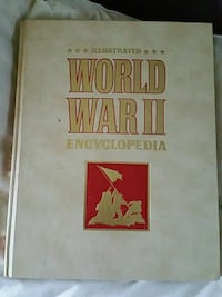 World War II Encyclopedia set of 24