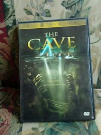 The Cave DVD movie case
