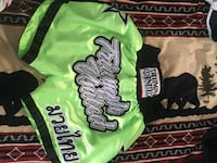 Gently used UFC Gi (size A1) and Gently used kick boxing shorts  Calgary, T2Z 3S6