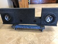"""10"""" Memphis subwoofers & box Tomball, 77375"""